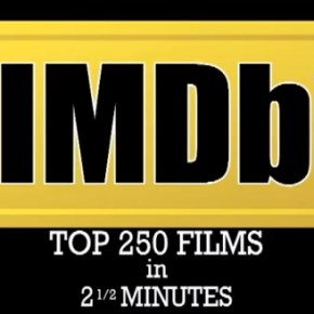 Die IMDB Top 250 Filme in 2,5 Minuten