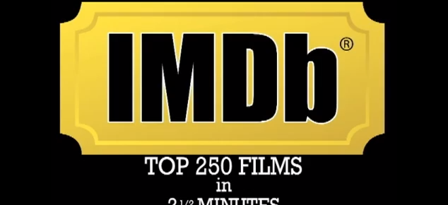 Die IMDB Top 250 Filme in 2,5 Minuten